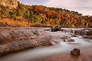 Pictures Photo Originals - Autumn River Rapids 2 by Paul Huchton