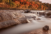 Bandera Framed Prints - Autumn River Rapids 3 Framed Print by Paul Huchton