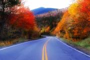 Photos Of Autumn Digital Art - Autumn Road 2 by William Carroll