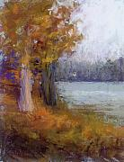 Lakes Pastels - Autumn Sentinel by Susan Williamson