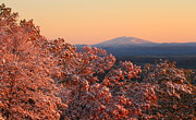 New Hampshire Posters - Autumn Snowstorm and Mount Monadnock Poster by John Burk