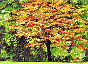 Splendor Paintings - Autumn Splendor by Patricia Griffin Brett