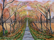 Splendor Paintings - Autumn Splendour by Yvonne Johnstone