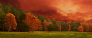 Autumn Landscape Originals - Autumn Storm by Gary Maynard