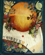 Sun Tapestries - Textiles Originals - Autumn Sun by Danuta Michno