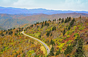 Susan Leggett Prints - Autumn Travel Print by Susan Leggett