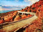 Autumn Views Print by Darren Fisher
