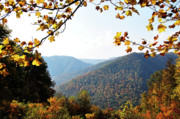 Mountain View Photos - Autumn West Virginia Mountains by Thomas R Fletcher