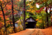 Sturbridge Village Posters - Autumn Wonder Poster by Joann Vitali