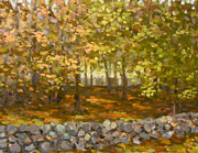 Jane  Simonson - Autumn Woods