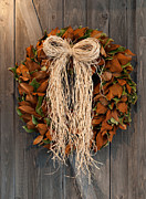 Tom Biegalski Acrylic Prints - Autumn wreath Acrylic Print by Tom Biegalski