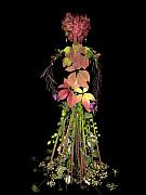 Flora Metal Prints - Autumnalis Elegans Metal Print by Catlin Harrison