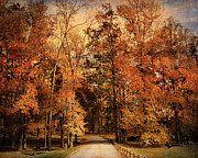 Autumn Landscape Art - Autumns Entrance by Jai Johnson