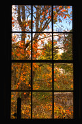New England Village Prints - Autumns Palette Print by Joann Vitali