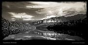 Auyantepuy Reflejado En El Rio Carrao Print by Juan Carlos Lopez