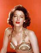 Gardner Framed Prints - Ava Gardner In The 1950s Framed Print by Everett