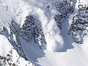 Snowbird Prints - Avalanche I Print by Bill Gallagher