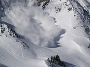 Snowbird Prints - Avalanche IV Print by Bill Gallagher