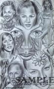 Murals Drawings - Avanessafacad by Rick Hill