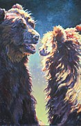 North American Wildlife Painting Posters - Avas Lesson Poster by Patricia A Griffin