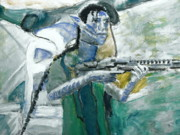Rifle Painting Originals - Avatar 3 by Stanley Morganstein