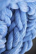 Manhattan Greeting Cards - Avatar Blue Rope by Henri Irizarri