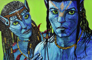 Avatar Paintings - Avatar by Bob Crawford