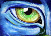 Avatar Paintings - Avatar Eye by Val N