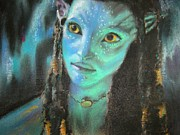 Science Pastels - Avatar by Lori Ippolito