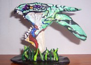 Movie Sculptures - Avatar..Banshee by JoNeL  Art