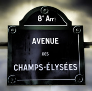 Chuck Kuhn - Ave Des Champs Elysees Marker