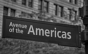 The Americas Posters - Avenue of the Americas Poster by Susan Candelario