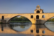 Saint Nicholas Prints - Avignon Bridge Print by Brian Jannsen
