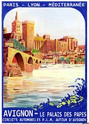 Avignon Deco Print by Lyle Brown