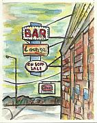 Minnesota Painting Originals - Avoca Bar by Matt Gaudian