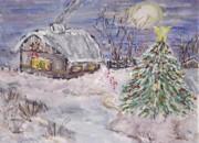 All - Awaiting Christmas  by Mary Sedici