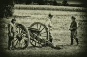 Civil War Cannon Prints - Awaiting Orders Print by Bill Cannon