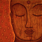 Bodhidarma Posters - Awakened Mind Poster by Gloria Rothrock