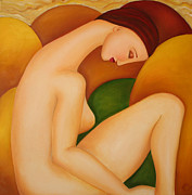 Strength Paintings - Awakening - 2009 by Simona  Mereu