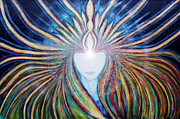 Universal Painting Posters - Awakening of Self Poster by Rena Marzouk
