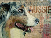 Aussie Digital Art - Awsome Aussie by Wendy Presseisen