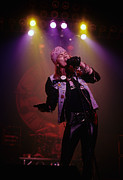 Axl Rose Metal Prints - Axl Rose  Metal Print by Rich Fuscia