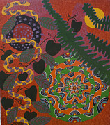 Ayahuasca Prints - Ayahuasca Sunset Print by Howard Charing