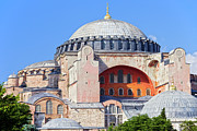 World Wonder Prints - Ayasofya Byzantine Landmark Print by Artur Bogacki