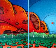 Sky Line Originals - Ayers Rock Cave by Jason Allen