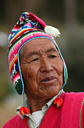 Aymara Prints - Aymara native. Republic of Bolivia. Print by Eric Bauer