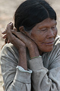Indigenous Prints - Ayoreo indigenous woman. Department of Sanrta Cruz. Republic of Bolivia.  Print by Eric Bauer