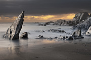 Atmospheric Framed Prints - Ayrmer Cove Framed Print by Richard Garvey-Williams