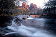  Cathedral Rock Prints - AZ0002 Sedona Arizona Print by Steve Sturgill