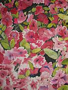 Azalea Bush Paintings - Azalea Medley by Shirley Braithwaite Hunt